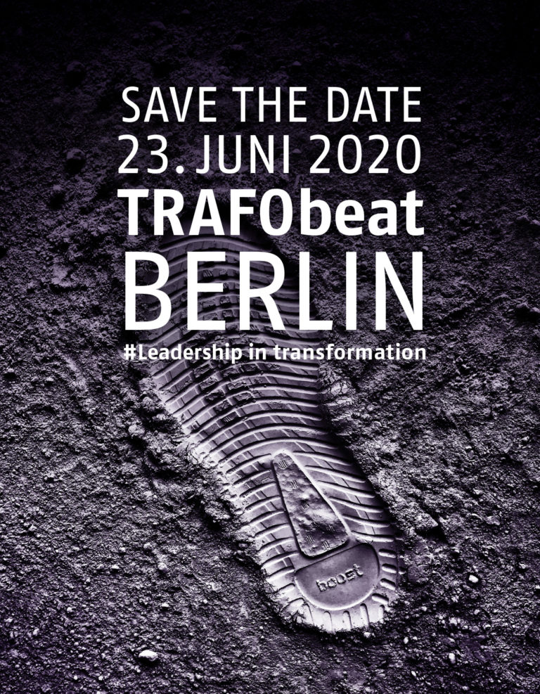 Teaserbild Save the date TRAFObeat Leadership ins Transformation